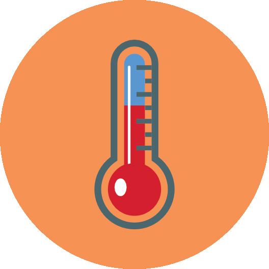 stała temperatura boksów magazynowych