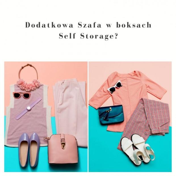 szafa w boxach self storage